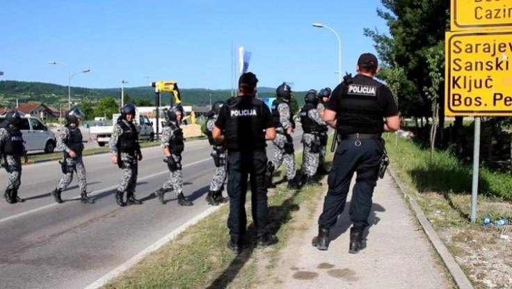 Policajci na terenu