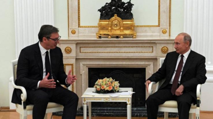Vučić se sastao sa Putinom