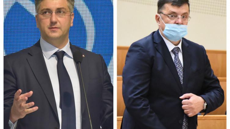 Plenković i Tegeltija