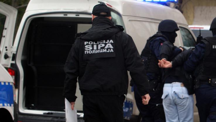 Osumnjičeni su privedeni u prostorije SIPA-e