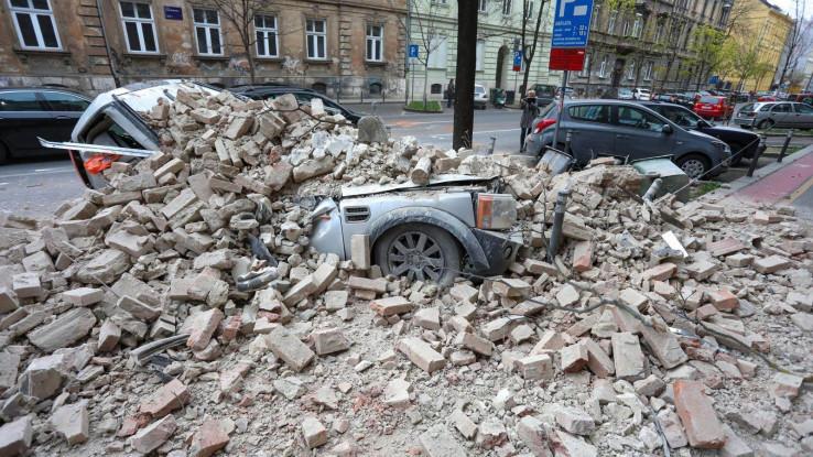 Jak zemljotres dogodio se krajem marta