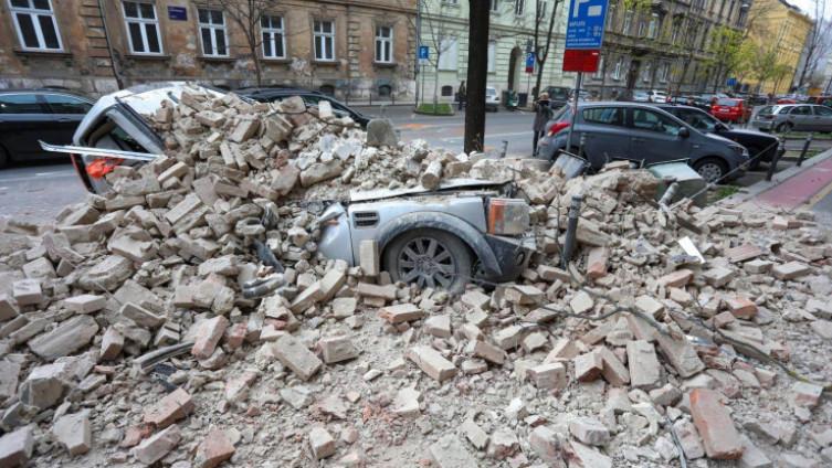 Jak zemljotres pogodio Zagrebn krajem marta