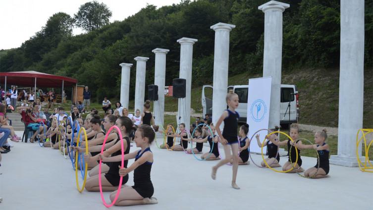 Nastup visočkih gimnastičarki