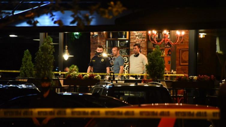 Istražitelji na mjestu ubistva