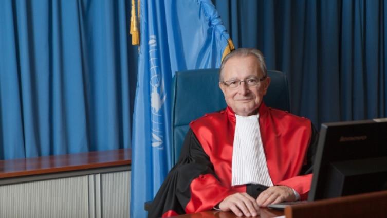 Agius jedan je od najdugovječnijih sudiija haških sudova
