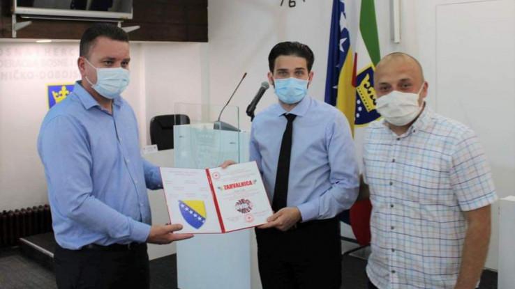 Uručena priznanja za izuzetan doprinos tokom pandemije koronavirusa