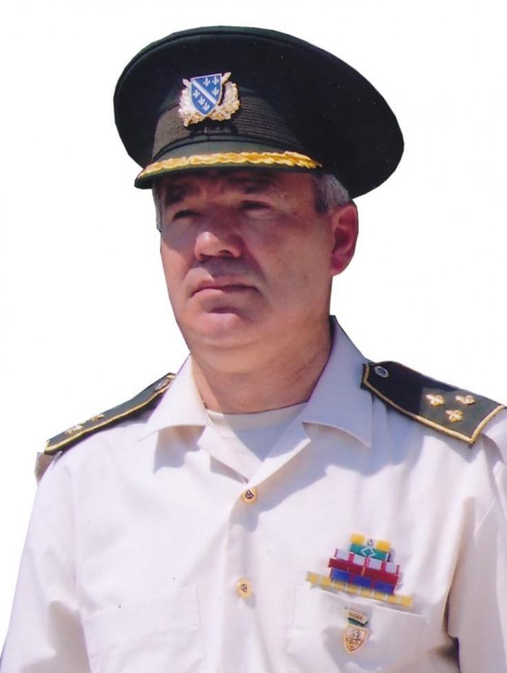 Kapetan Armije RBiH Sead Hanić