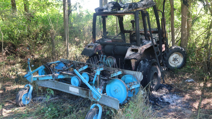 Traktorom izdržavao porodicu