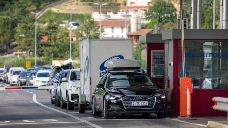 Sa jednog od graničnih prijelaza između Hrvatske i Slovenije