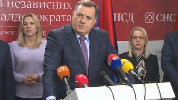 Dodik: Zna se ko koči