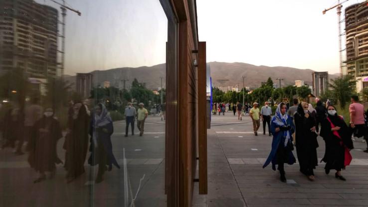 Sa ulica iranske prijestonice Teherana