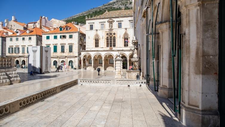 Puste ulice Dubrovnika