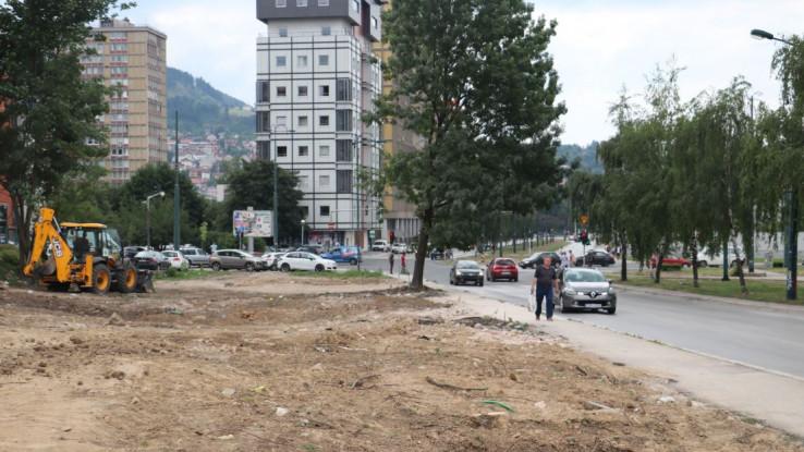 """Okončano rušenje """"druge kuće"""" u ulici Halida Kajtaza na prvoj dionici Prve transverzale"""