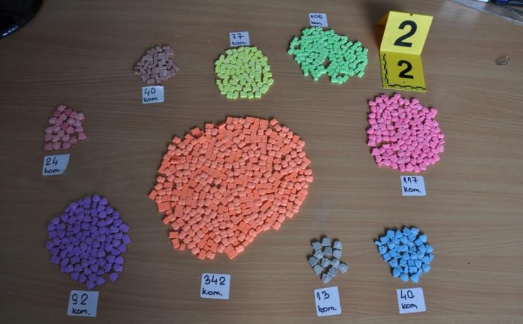 Tablete koje sadrže psihotropne supstance