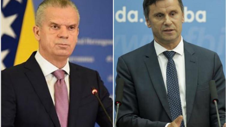 Fahrudin Radončić i Fadil Novalić