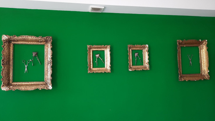 """Neobična """"djela"""" na zidu"""