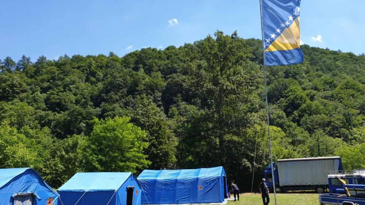 Kamp u mjestu Glode
