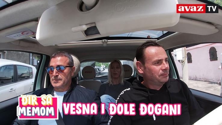 """Gosti večerašnjeg izdanja ekskluzivnog serijala """"Đir sa Memom"""" su Vesna i Đole Đogani"""