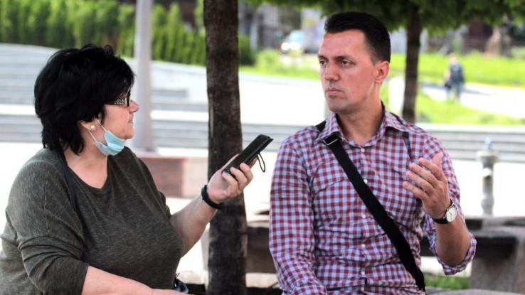 Hasanović s našom novinarkom Almasom Hadžić: Sjećanje na najteži dio života