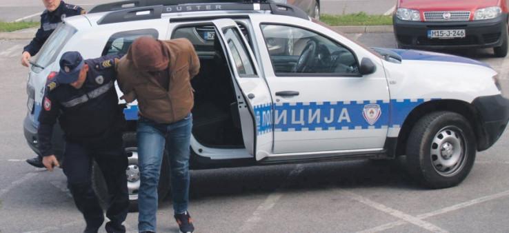 Osumnjičeni priveden