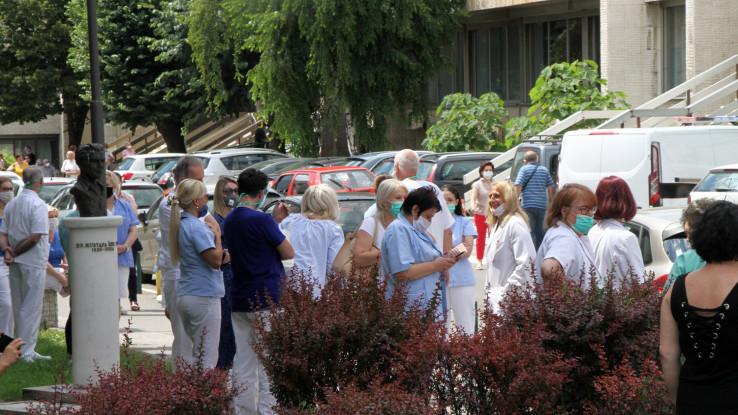 Osoblje i pacijenti napustili Dom zdravlja