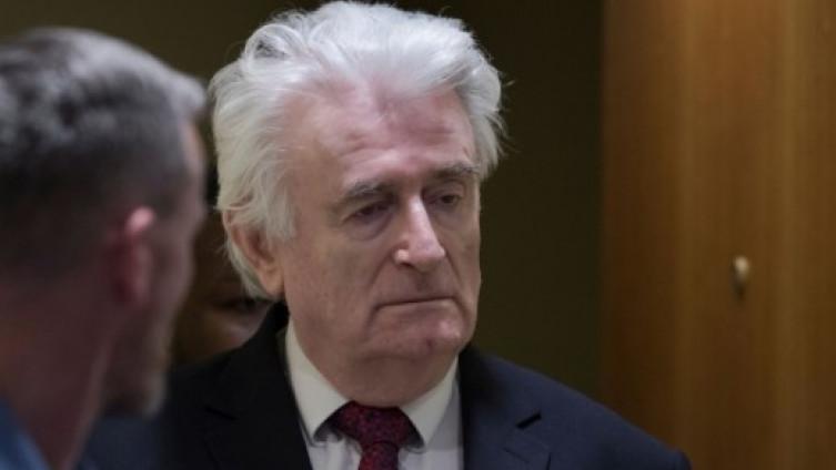 Karadžić: Pravosnažno osuđen na doživotnu kaznu zatvora