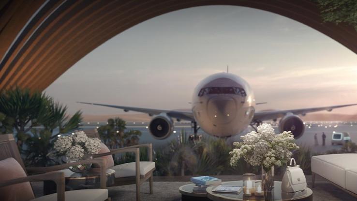 Nekoliko objavljenih renderinga veličanstvenog novog internacionalnog aerodroma, prikazuju čist luksuz