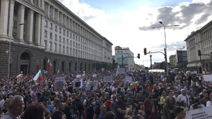 Protesti  se održavaju bez ozbiljnijih sukoba