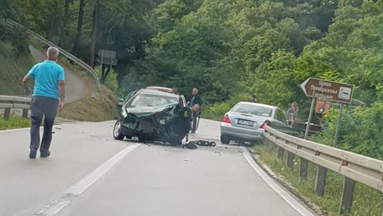 Saobraćajna nezgoda dogodila se na putu Banja Luka – Krupa na Vrbasu