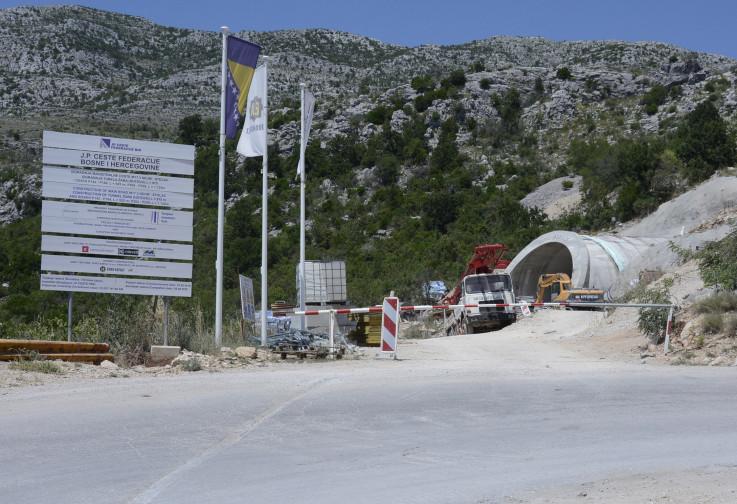 S gradilišta: Tunel Žaba je pri kraju - Avaz, Dnevni avaz, avaz.ba