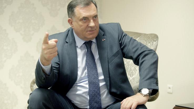Dodik: Otkazao sastanak