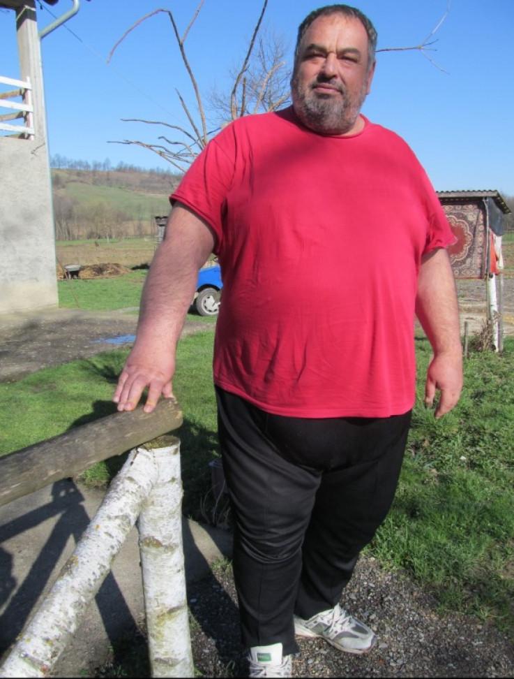 Karić je 2016. godine bio težak 256 kilograma
