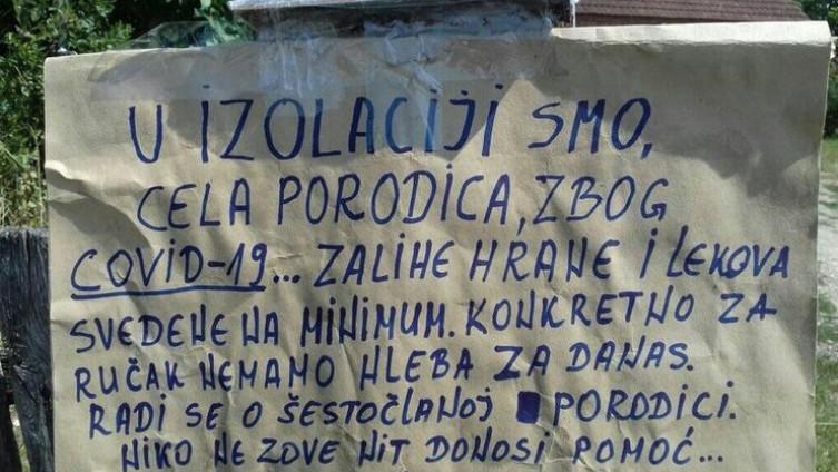 Dvoje od šestoro ukućana porodice Jekić iz Pocerskog Metkovića, kod Šapca, pozitivno je na koronavirus