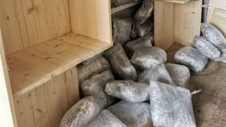 Spriječeno krijumčarenje 55kg marihuane