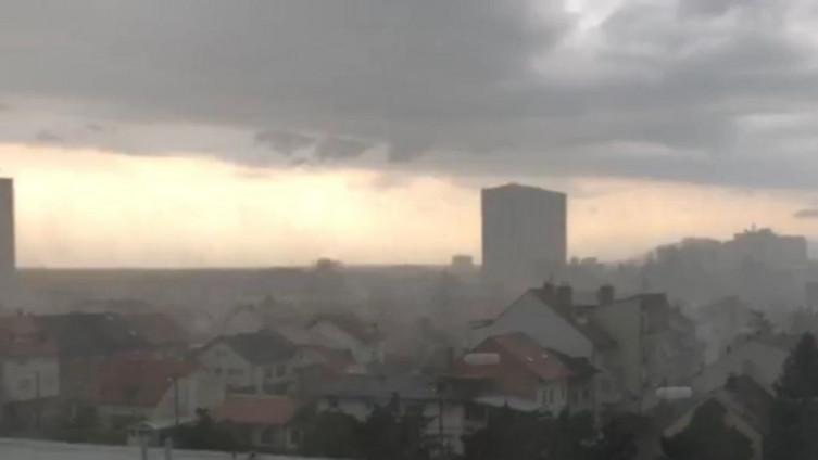 Nevrijeme u Zagrebu