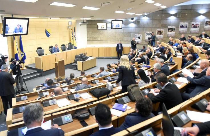 Sjednica Predstavničkog doma Parlamenta FBiH