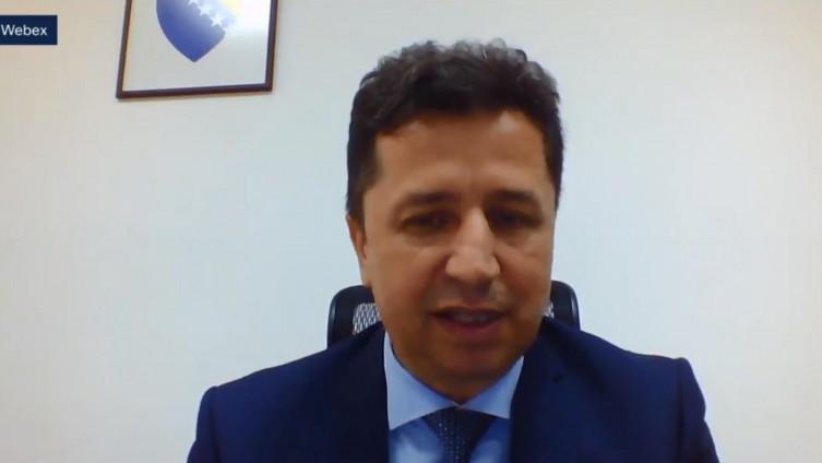 Predsjedavajući Predstavničkog doma Parlamenta FBiH Mirsad Zaimović (SDA)
