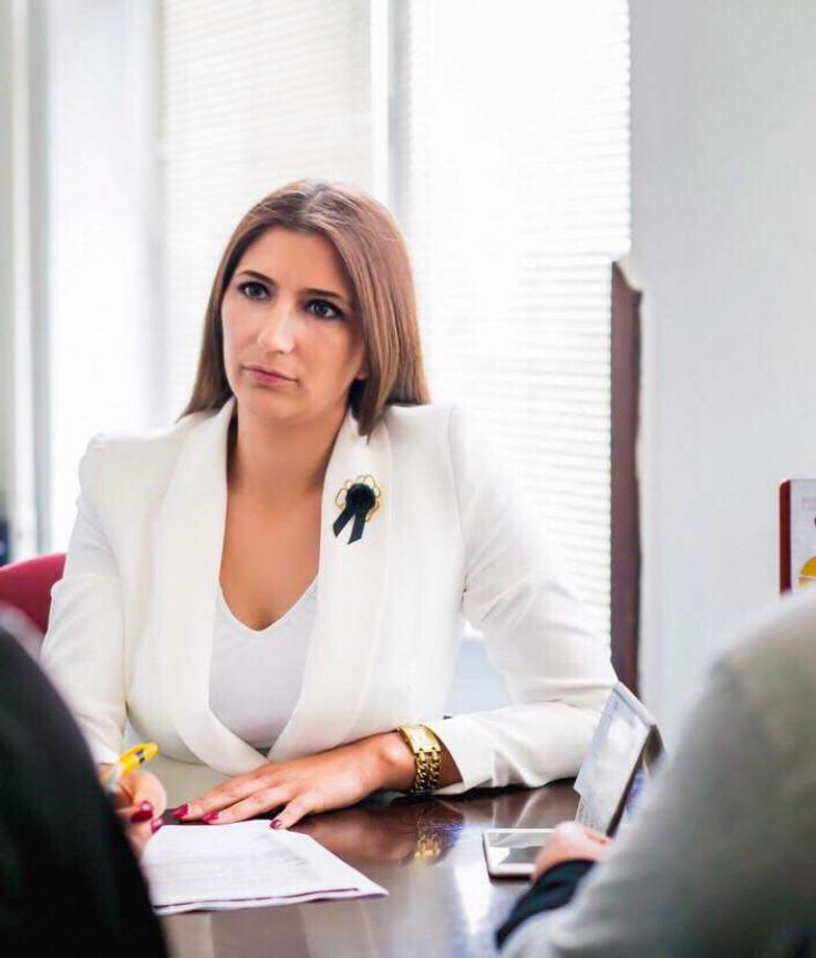 Predsjednica Kluba SBB-a Azra Hadžić