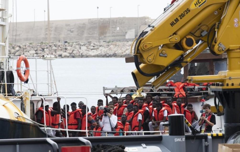 Spašeno 94 migranta, 65 ih ima koronu - Avaz, Dnevni avaz, avaz.ba