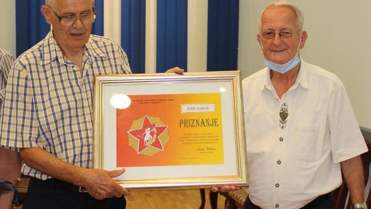 S dodjele priznanja Aleksiću