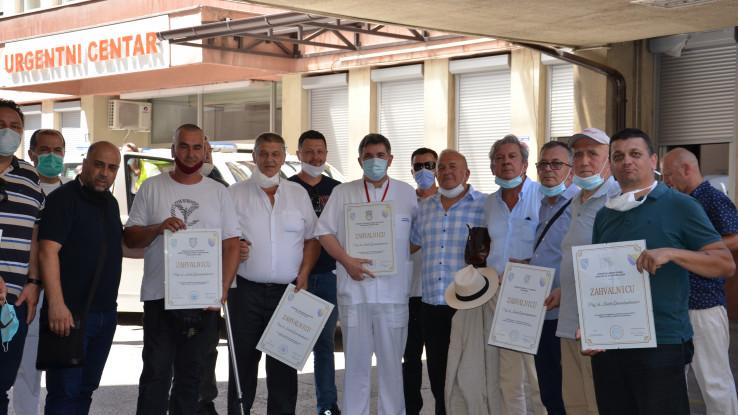 Gavrankapetanović je srdačno zahvalio predstavnicima