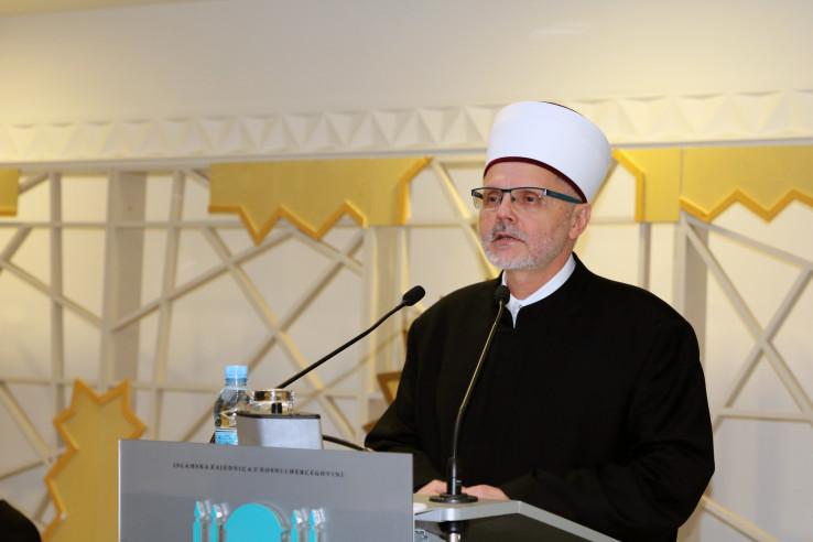muftija sarajevski i zamjenik reisu-l-uleme IZBiH Enes ef. Ljevaković