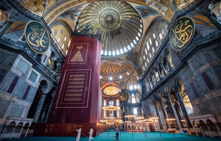 Aja Sofija je od 1985. na listi svjetske kulturne baštine UNESCO-a