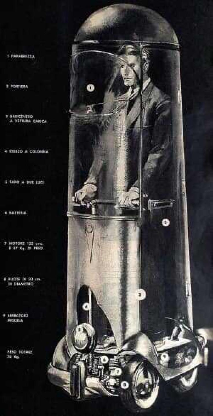 """""""Automobil jednog čovjeka"""" bio je prijedlog za borbu protiv uskih grla i zagađenja"""