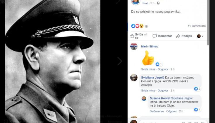 Sporna objava na Facebooku Suzane Horvat