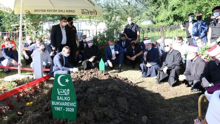 Salko Bukvarević pokopan u haremu Džindijske džamije