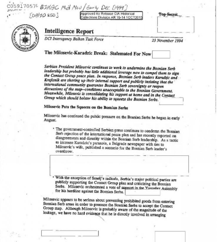 Dokumenti ranije objavljeni