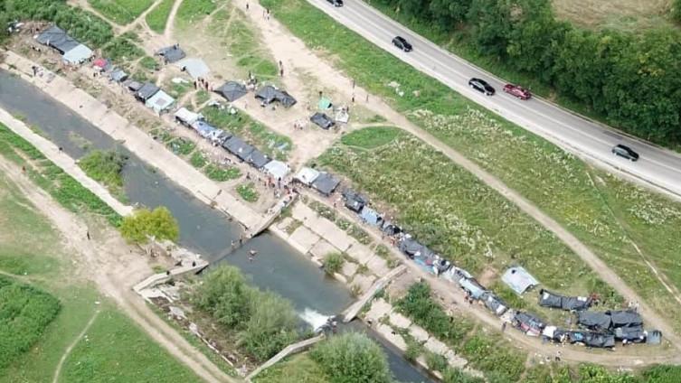 Migranti ponovo postavili šatore