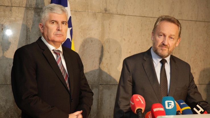Izetbegović i Čović: Potpise na dogovor stavili u junu