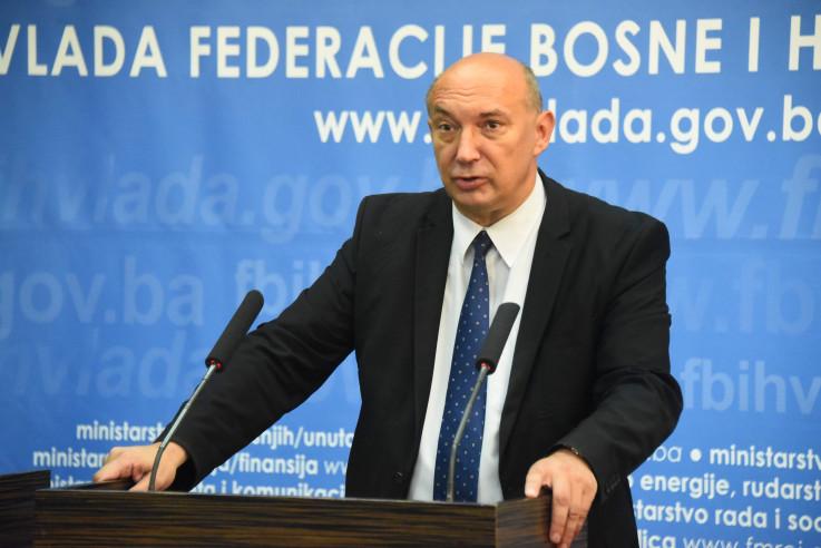 Drljača: Konsultacije s Federalnim ministarstvom finansija